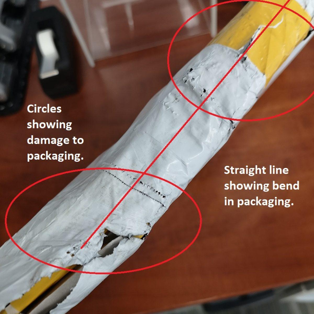 AliExpress Damaged Product